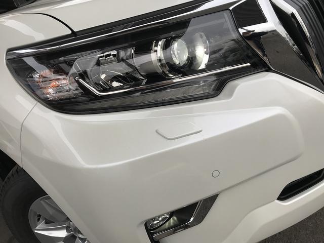 トヨタ ランドクルーザープラド TX 新車 サンルーフ クリアランスソナ 追従クルーズ 7人