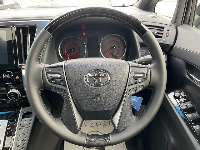 2.5S タイプゴールド 新車未登録 ディスプレイオーディオ バックカメラ 両側電動ドア パワーバックドア レーダークルーズコントロール Wサンルーフ ハーフレザー 純正アルミ LEDヘッドライト ステアリングリモコン(38枚目)