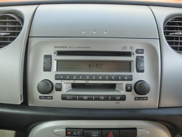 ダイハツ ミラジーノ X 一年保証 キーレス 純正CD