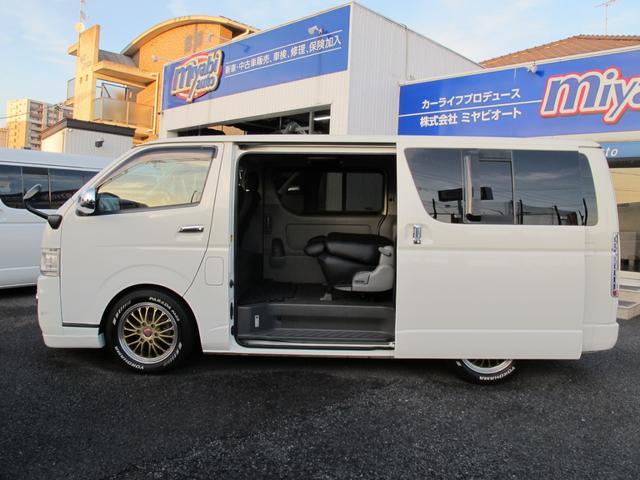 トヨタ レジアスエースバン 5D ロングスーパーGL 3.0DT ローダウン 17AW