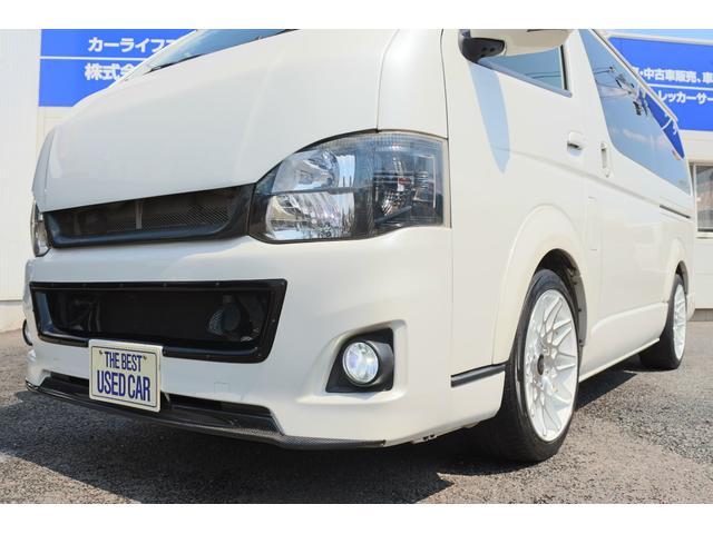 トヨタ ハイエースバン 5D スーパーGLロング 3.0DT 社外20AW