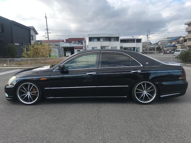 ロイヤルエクストラ JIC車高調 社外マフラー 社外SDナビ(5枚目)