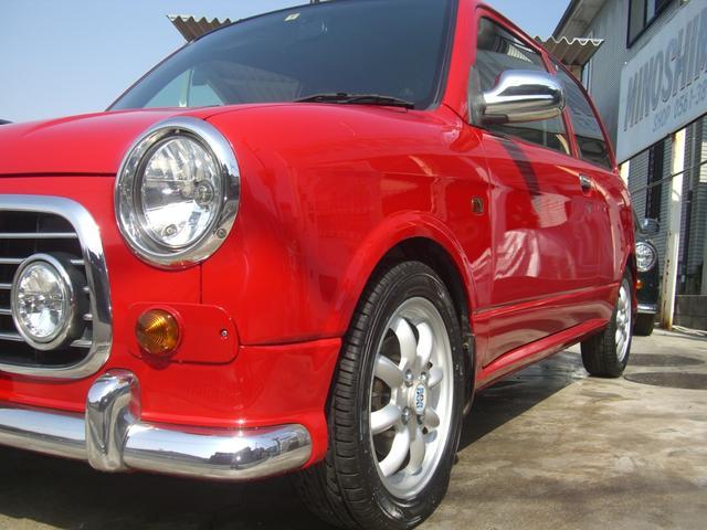 ダイハツ ミラジーノ ジーノS 5速MT 4WD ローダウン 新品シートカバー