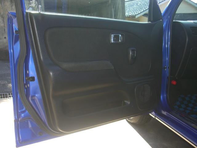 ミニライトスペシャルターボ 5速MT ユニオンジャックルーフ ローダウン フェンダーミラー DCN13AW 新品シートカバー クラッチ4点 Tベルト Wポンプ交換済 禁煙車(63枚目)