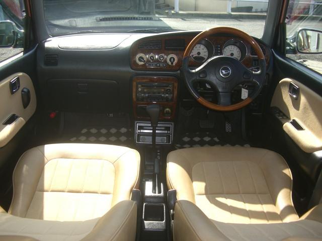 ジーノ 最終モデル ウッド調インテリア ローダウン ミニライト14AW 新品タイヤ タイミングベルト ウォータポンプ交換済(14枚目)