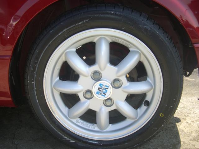 ジーノ 最終モデル ウッド調インテリア ローダウン ミニライト14AW 新品タイヤ タイミングベルト ウォータポンプ交換済(18枚目)