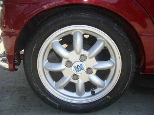 ジーノ 最終モデル ウッド調インテリア ローダウン ミニライト14AW 新品タイヤ タイミングベルト ウォータポンプ交換済(19枚目)