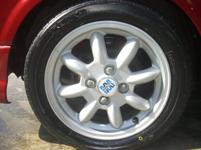 ジーノ 最終モデル ウッド調インテリア ローダウン ミニライト14AW 新品タイヤ タイミングベルト ウォータポンプ交換済(21枚目)