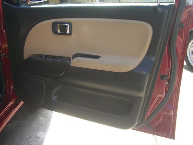 ジーノ 最終モデル ウッド調インテリア ローダウン ミニライト14AW 新品タイヤ タイミングベルト ウォータポンプ交換済(59枚目)
