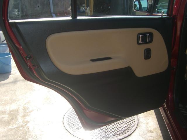ジーノ 最終モデル ウッド調インテリア ローダウン ミニライト14AW 新品タイヤ タイミングベルト ウォータポンプ交換済(60枚目)