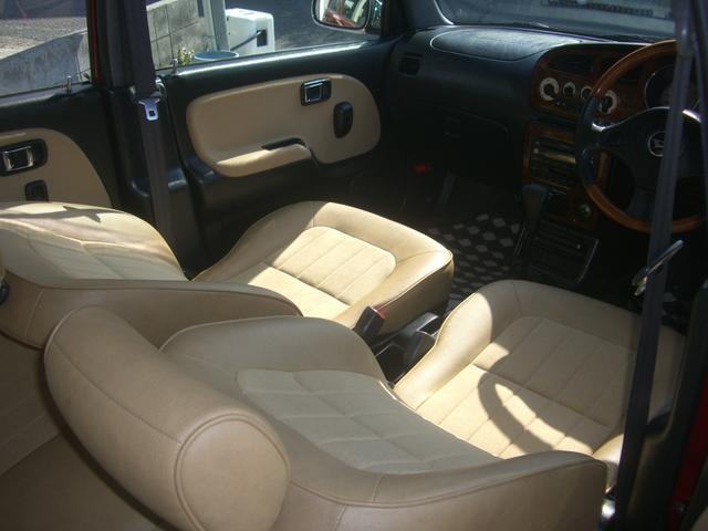ジーノ 最終モデル ウッド調インテリア ローダウン ミニライト14AW 新品タイヤ タイミングベルト ウォータポンプ交換済(66枚目)
