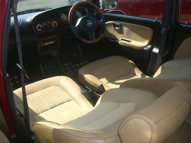 ジーノ 最終モデル ウッド調インテリア ローダウン ミニライト14AW 新品タイヤ タイミングベルト ウォータポンプ交換済(67枚目)