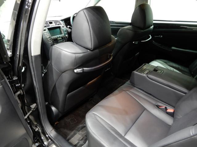 トヨタ クラウン アスリート 黒革サンルーフHDD新品車高調新品20AWエアロ