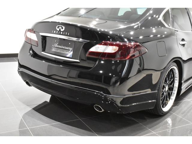 250GT サンルーフ ブラックハーフレザーシート Bluetooth HDD フルセグ サイドバックカメラ ETC 新品タナベ車高調 新品21インチタイヤホイール 新品フルエアロ 新品インフィニティエンブレム(42枚目)