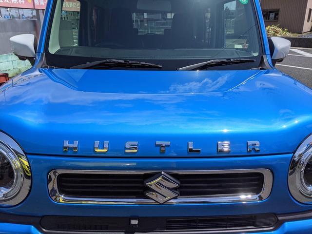 ハイブリッドX ブルー/ホワイトツートン LED ドラレコ 9インチ/純正全方位モニター/純正ナビ/フルセグTV/Bluetooth 衝突被害軽減ブレーキ シートヒーター スマートキー アイドリングストップ 純正AW 走行距離3,000km 禁煙車 修復歴無し(6枚目)
