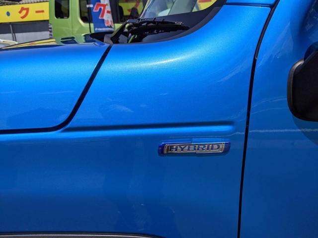 ハイブリッドX ブルー/ホワイトツートン LED ドラレコ 9インチ/純正全方位モニター/純正ナビ/フルセグTV/Bluetooth 衝突被害軽減ブレーキ シートヒーター スマートキー アイドリングストップ 純正AW 走行距離3,000km 禁煙車 修復歴無し(34枚目)