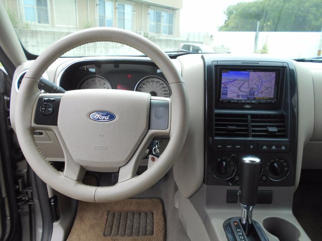 フォード フォード エクスプローラー XLT HDDナビ 地デジTV キーレス 純正AW