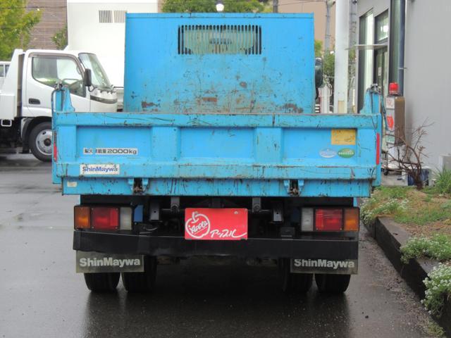いすゞ エルフトラック ダンプ 低床強化 積載量2t