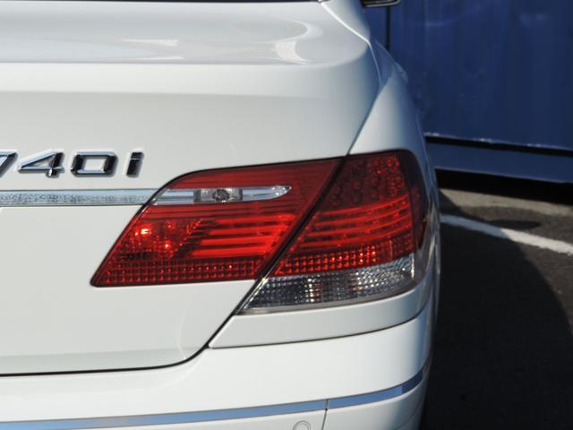 BMW BMW 740i ブラックレザーシート サンルーフ HDDナビ