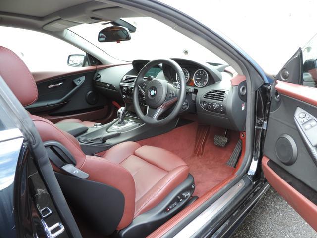 BMW BMW 650i レッドレザー HDDナビ フルセグ サンルーフ