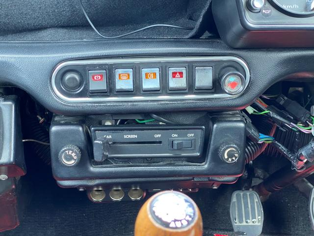 1.3 12インチAW・社外オーディオ・4速MT・ETC・クーラー(19枚目)