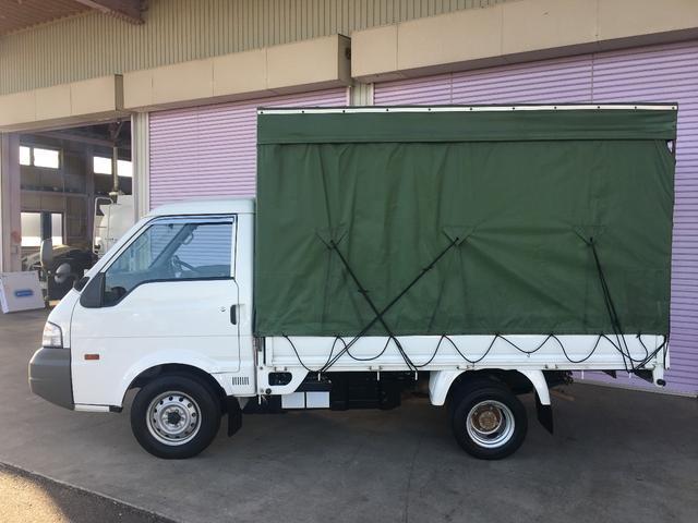 日産 バネットトラック スーパーローDX 幌付 4WD 5MT 1t ディーゼル