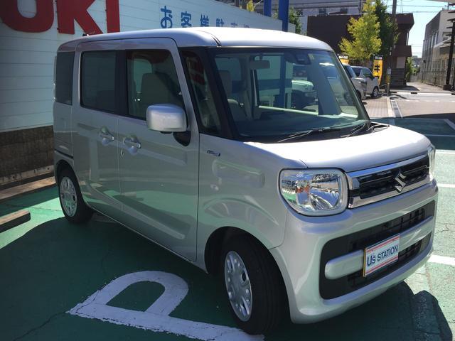 「スズキ」「スペーシア」「コンパクトカー」「愛知県」の中古車4