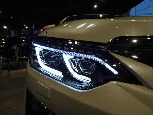 ハイブリッド Gパッケージ 新品スピンドルグリルエアロ 新品ファイバースモール&シーケンシャルウィンカー仕様ヘッドライト 新品20インチホイール&タイヤ(8枚目)