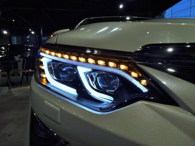 ハイブリッド Gパッケージ 新品スピンドルグリルエアロ 新品ファイバースモール&シーケンシャルウィンカー仕様ヘッドライト 新品20インチホイール&タイヤ(9枚目)