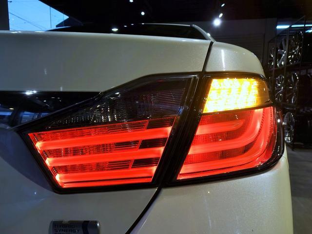 ハイブリッド Gパッケージ 新品スピンドルグリルエアロ 新品ファイバースモール&シーケンシャルウィンカー仕様ヘッドライト 新品20インチホイール&タイヤ(12枚目)