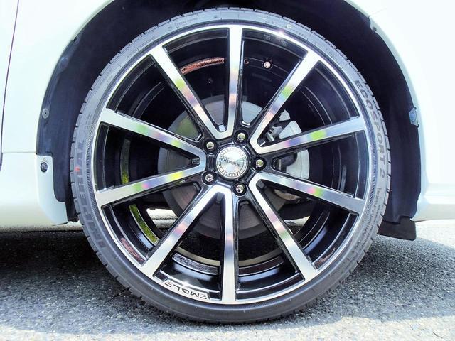 ハイブリッド Gパッケージ 新品スピンドルグリルエアロ 新品ファイバースモール&シーケンシャルウィンカー仕様ヘッドライト 新品20インチホイール&タイヤ(30枚目)