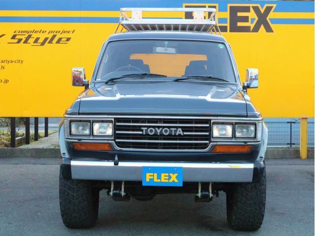 トヨタ ランドクルーザー60 VX・純正カラー・4インチアップ・オーディオ・ETC