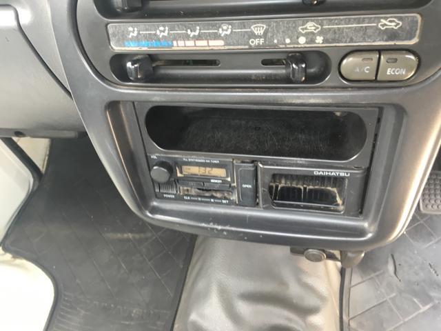 ダイハツ ハイゼットトラック 3方開 エアコン