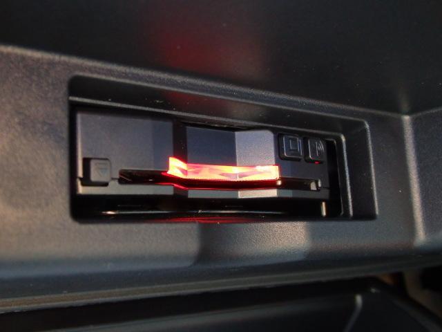 もちろんビルトインETC装備済みですので、高速時に快適に走行して頂けます。