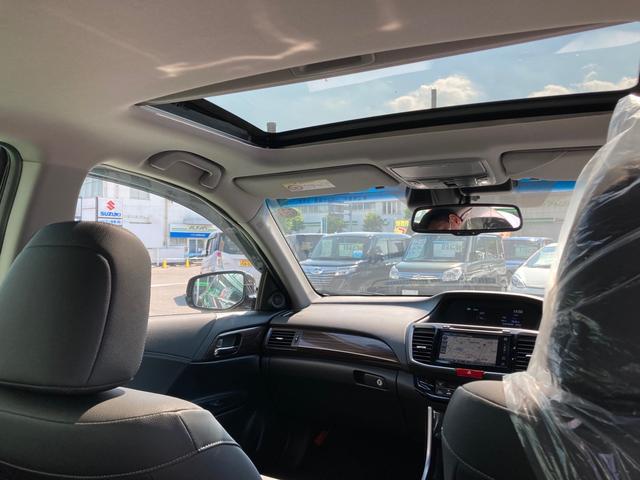 EX スマートキー サンルーフ シートヒーター リヤシートヒーター ホンダセンシング クルーズコントロール LED 本革シート パワーシート 純正ナビ(42枚目)