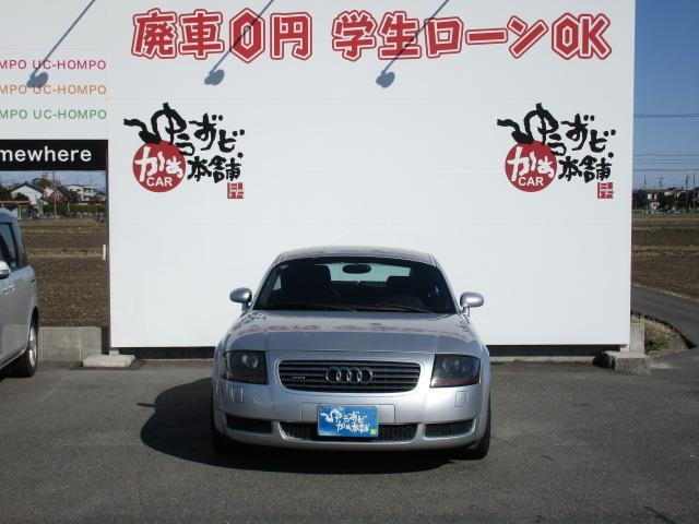 アウディのコンパクトスポーツモデル!TTクーペがお買い得入庫です。機関コンディション良好でおすすめ車両です!