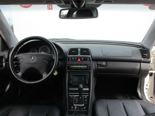 メルセデス・ベンツ M・ベンツ CLK320 ブラバスエアロアルミ仕様 サンルーフ 純正ナビ