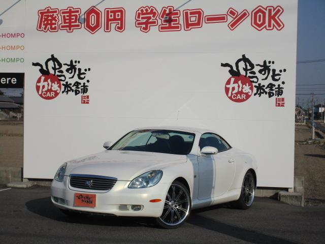 430SCV ヒータ付黒革シート 社外20アルミ 決算セール(7枚目)