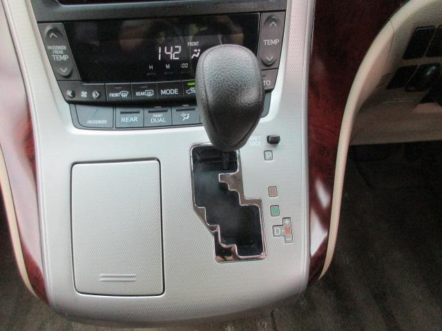 トヨタ ヴェルファイア 2.4X 車高調 両電動スライド 純HDDナビ 19AW