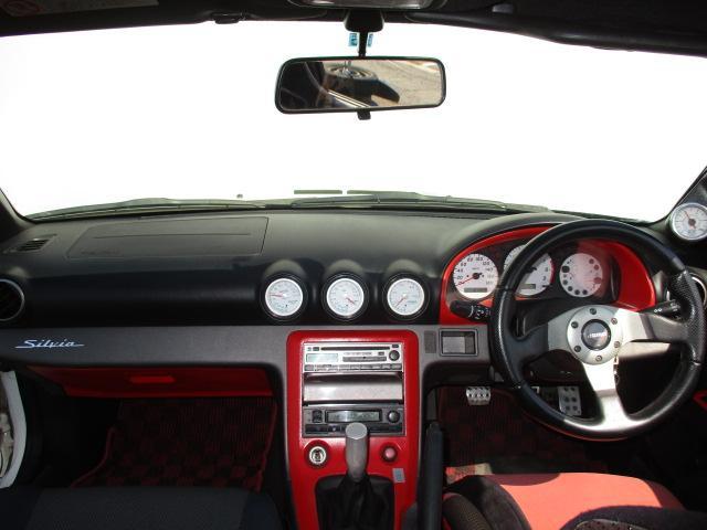日産 シルビア スペックS Gpkg 車高調 社外エアロ 社外マフラー