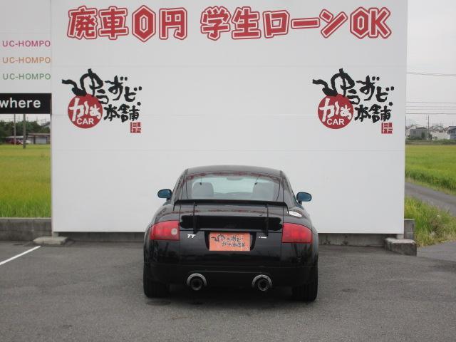 アウディ アウディ TTクーペ 1.8T ビルシュタイン車高調 ARS18アルミ 革巻ステア