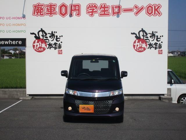 スズキ パレットSW XS 電動スライド HID 純正14アルミ オートライト