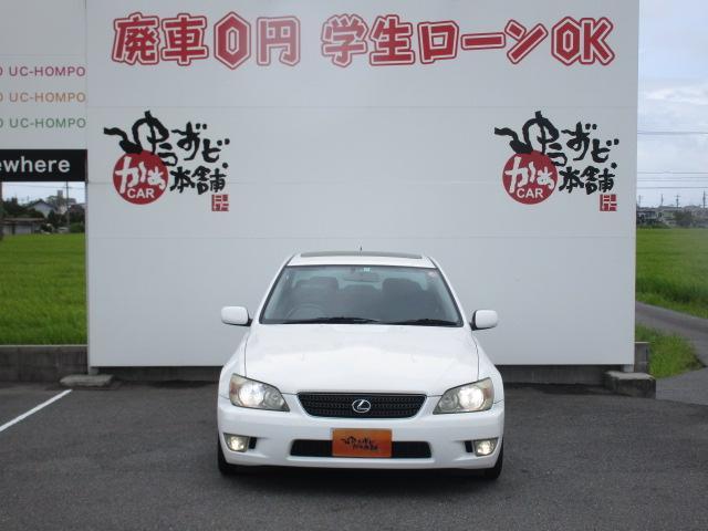 トヨタ アルテッツァ RS200 Zエディ サンルーフ Tベルト済 車高調