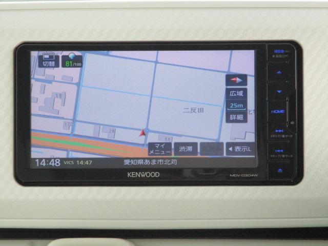 X SAII エコアイドル ケンウッドSDナビ スマートアシストII スマートキー 両側スライドドア ETC 電動格納ミラー ワンセグテレビ オートライト オートエアコン リアフルフラット(10枚目)