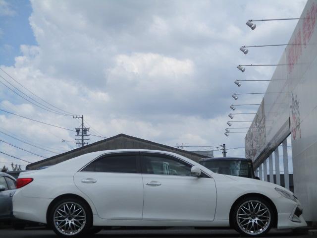 250G リラックスセレクション RDS仕様フロントフェイス ワーウィック19インチアルミ 電動シート スマートキー 革巻きステア HIDヘッドライト ブライツLEDテール(4枚目)