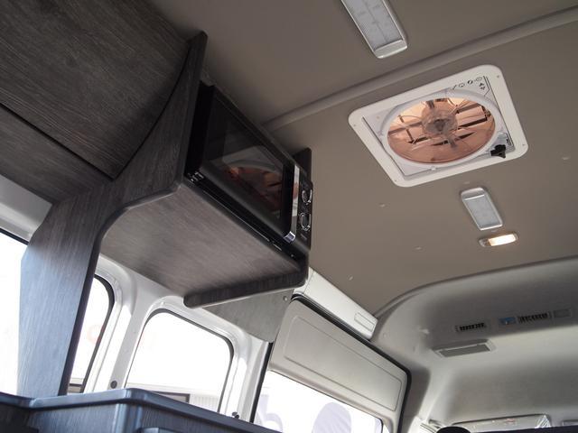 トヨタ ハイエースバン インディアンキャンパー アパッチ 冷蔵庫 電子レンジ4人就寝