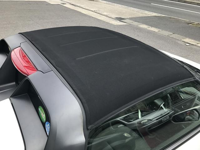 ホンダ S660 α 赤・黒ロールトップ シティブレーキ センターディスプレイ