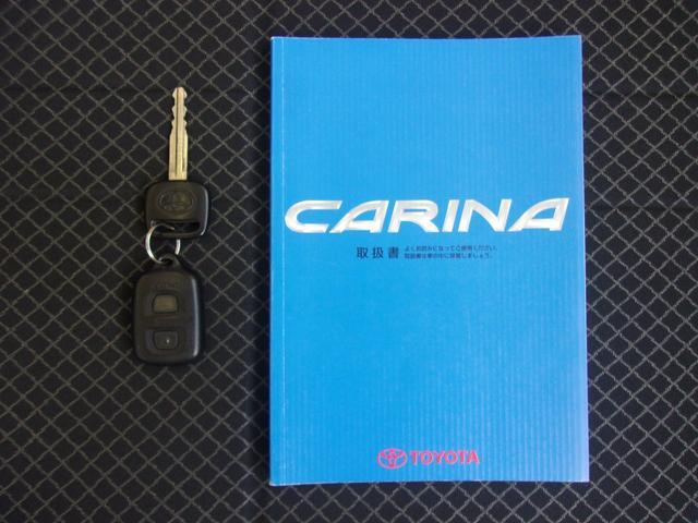 トヨタ カリーナ GT オリジナル 5速MT タイヤ4本新品