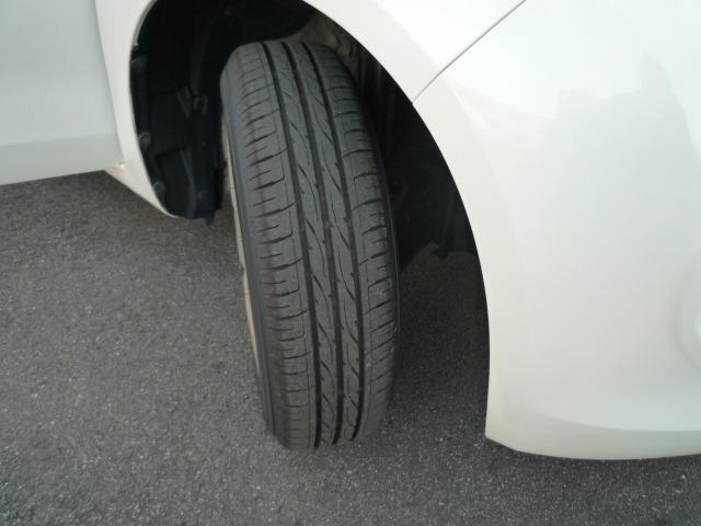 タイヤの溝もまだまだありますので安心して運転できますよ!
