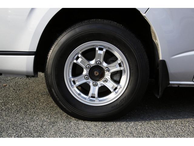 トヨタ レジアスエースバン スーパーロングワイドDX GLパック 8ナンバーキャンピング